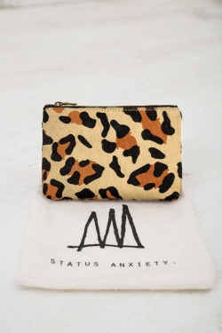 STATUS ANXIETY WALLET - LEOPARD