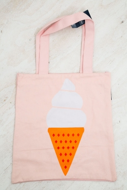 Tote Bag - Ice Cream