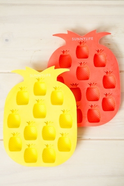 Pineapple Ice Trays 2 Set - Yellow And Coral
