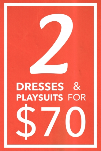 2 Dresses & 2 Playsuits Pack