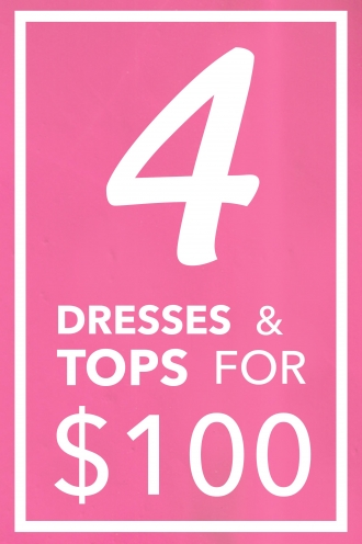 4 Dresses & 4 Tops Pack