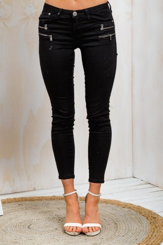 Berry Syrup Womens Skinny Leg Jeans - Black