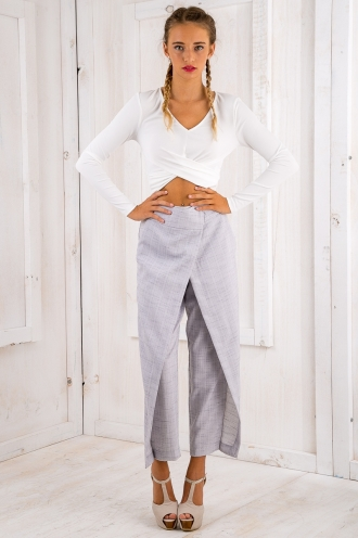 Fiona Pants - Grey