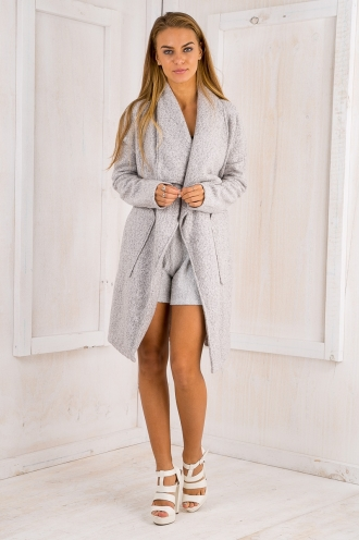 London days coat - Light Grey