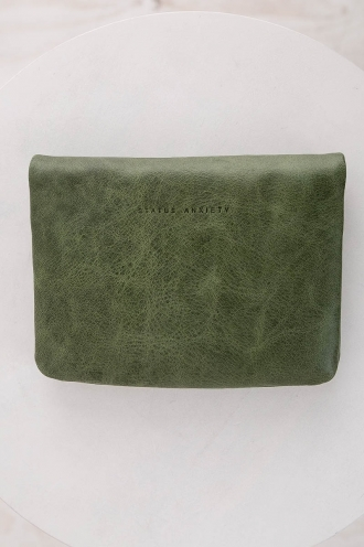 STATUS ANXIETY WALLET NORMA - EMERALD