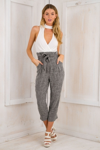 Kiri jumpsuit - White/Charcoal