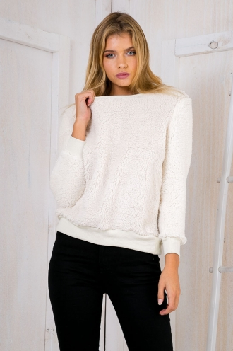 Fondue Jumper -Cream
