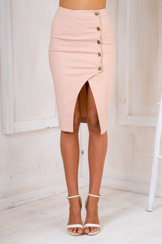 Sabrina pencil skirt - Beige