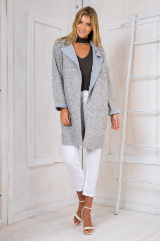 Melting Moment Coat- Grey