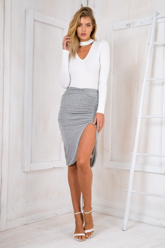 Eyes wide open skirt - Grey