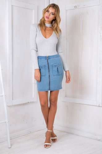 Tegan skirt - Denim