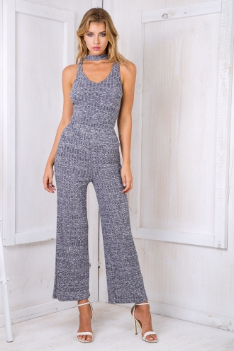 Milah wide leg pants - Navy
