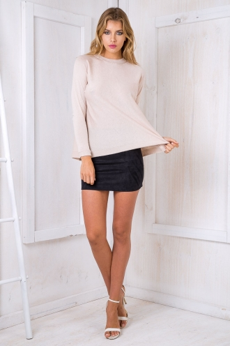 Stacey knitted jumper- Beige