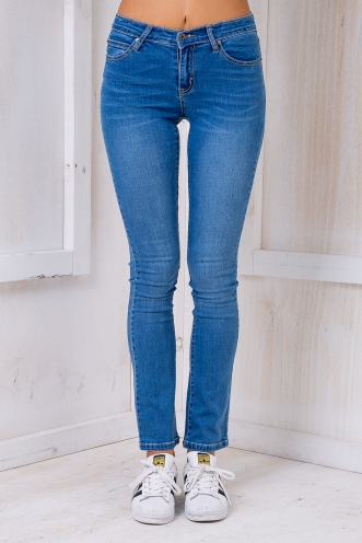 Blake high rise jeans - Blue denim