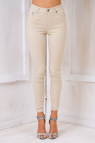 Coming home Skinny Jeans - Camel