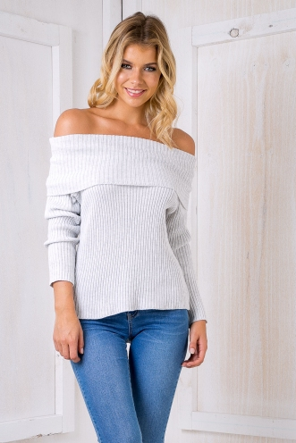 Maya jumper - Light Grey