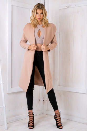 Shannon long coat - Beige