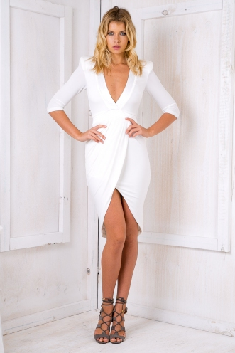 Madonna dress-white-SALE