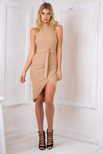 Tally basic dress - Caramel SALE