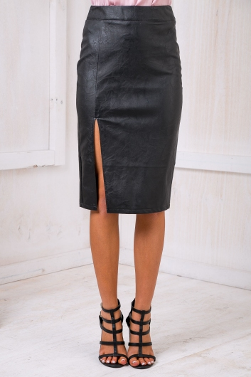 Grey days skirt - Black