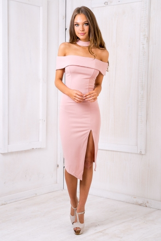 Jordy glam dress - Pink
