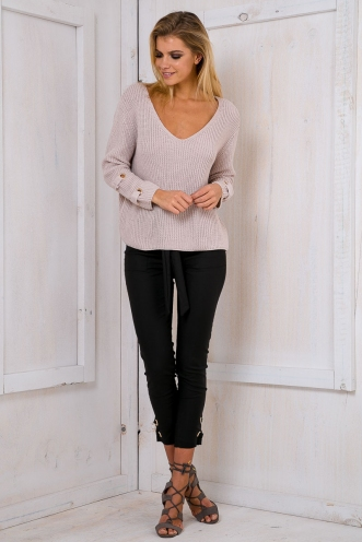 Andi relaxed jumper - Beige