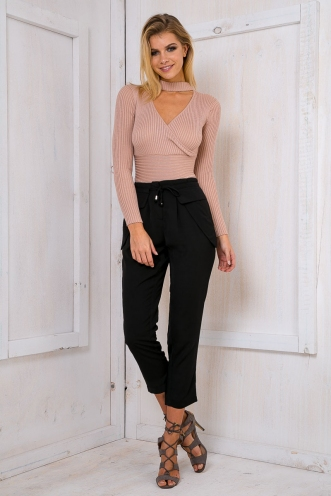 Crystal slouch pants - Black