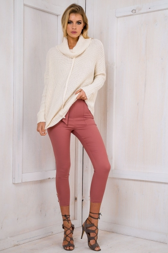 Wendy relaxed jumper - Cream