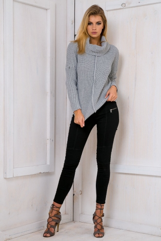 Wendy relaxed jumper - Grey