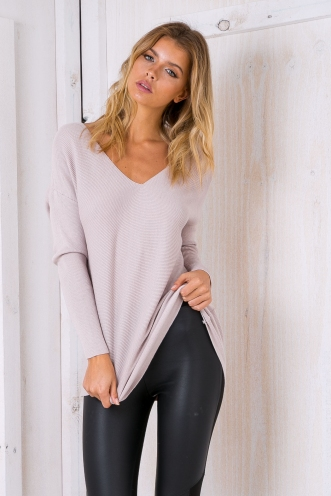 Brooklyn jumper - Taupe