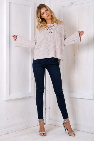 Jannah Rose jumper - Grey