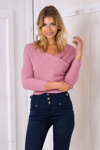 Aubrey jumper - Dusty purple
