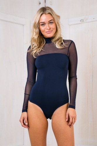 Freda bodysuit - Navy-SALE