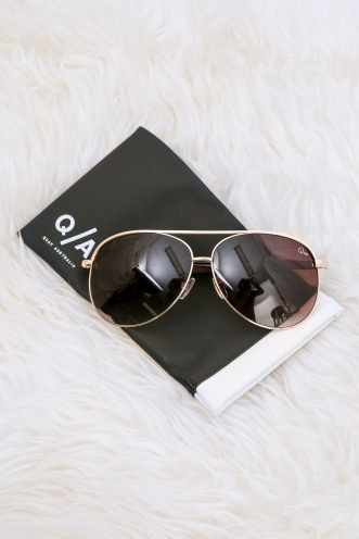 Macaw Quay Sunglasses - Gold/Brown