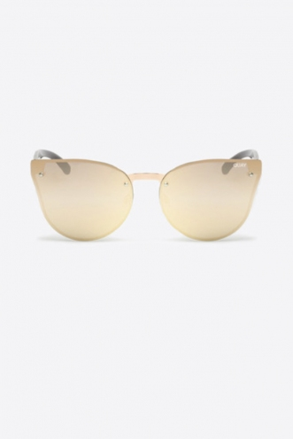 Higher Love Quay Sunglasses - Rose Gold