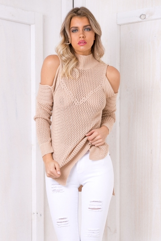 JoJo jumper - Beige-SALE