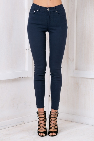 Trissy high rise jeans -Navy
