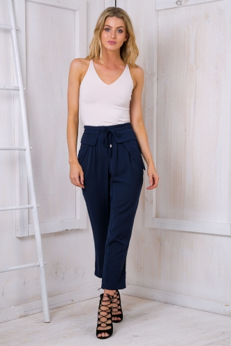 Crystal slouch pants - Navy
