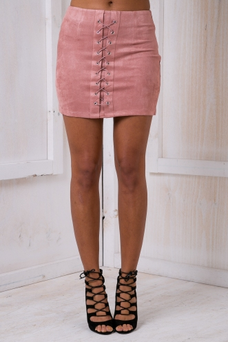 Clueless mini skirt - Dusty pink