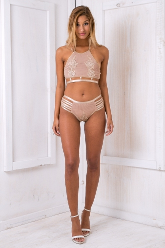 Maybelle lace intimates - Beige