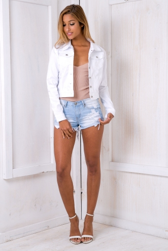 Shanice jacket- White
