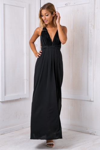 Kiara evening dress - Black