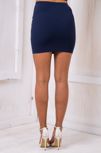 Rosie mini skirt - Navy