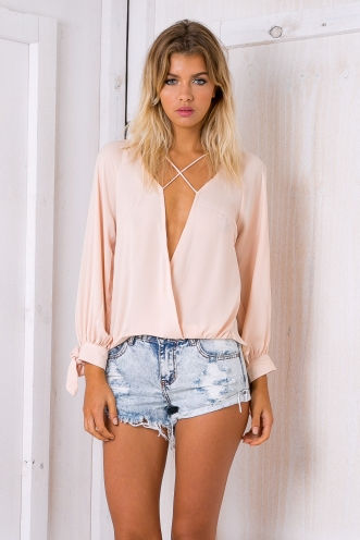 Penni blouse - Light peach