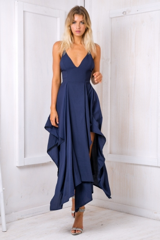 Liana Evening dress - Navy