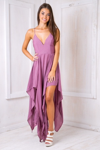 Liana Evening dress - Dusty Lavender