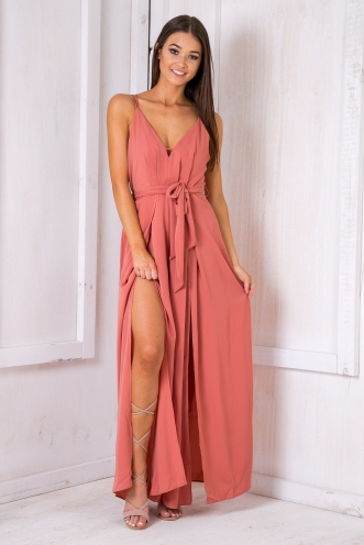 Cooper jumpsuit - Dusty pink