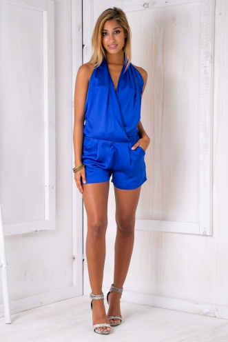7afd1361be2 Electric playsuit - Blue ...