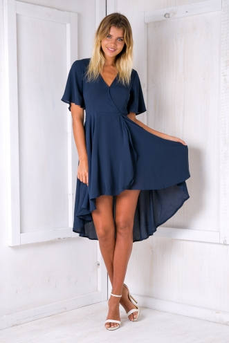 Daylight dress - Navy Blue-SALE
