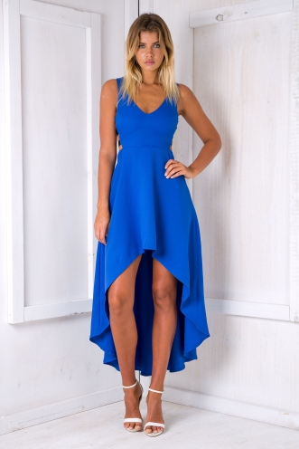 Tyra evening dress - Electric Blue